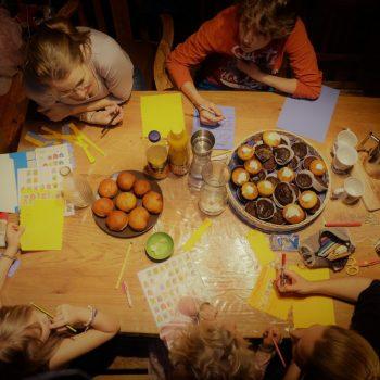 Gemeinsames- Schreiben-Neujahrstradition