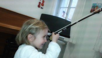 Einhorn-Geige-Lebendige-Familienzeit